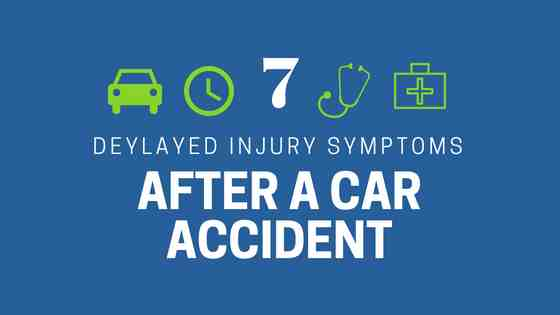 7 delayed injuries after car accidents in Florida and Kentucky