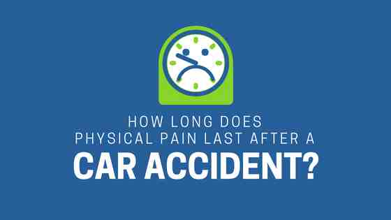 physical pain after car accident