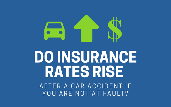 insurance rate increase car accident