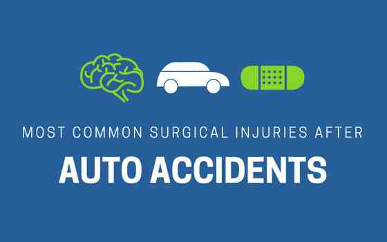 surgical injuries after auto accident