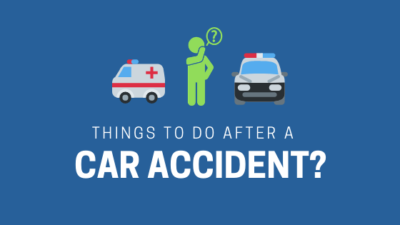 things to do after car accident